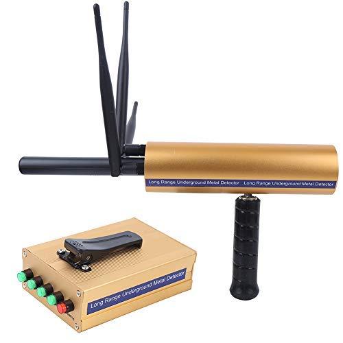 Tonysa Detector de Metales AKS, escáner de Tesoros de 100-240V 1400 Metros, localizador subterráneo de detectores de Metales para Oro Plata Cobre Piedras Preciosas