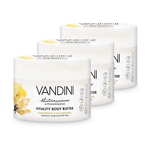VANDINI VITALITY Beurre corporel à la fleur de...