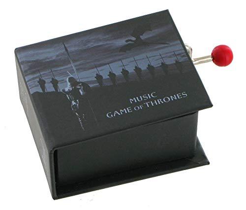 Boîte à musique à manivelle en forme de livre - Game of Thrones (thème principal de la série TV Game of Thrones)