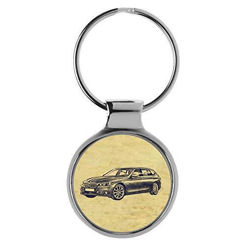 KIESENBERG Schlüsselanhänger Geschenke für BMW 5er Touring Fan A-20679