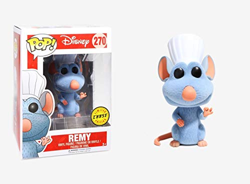 Figura Funko Pop! Disney Ratatouille - Remy Flocked CHASE Pop 10cm