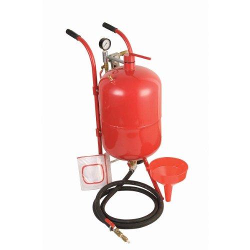 New 10 Gallon Portable Air Sandblaster Sand Blaster Kit High Pressure Tank