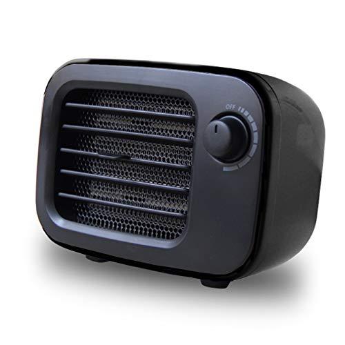 GTEFWZ Calentador De Espacio, Portátil 500W De Vuelco Y Protección contra Sobrecalentamiento, Calentador Eléctrico Portátil para Habitación Llena De Interior 3S Office, Quick Heat