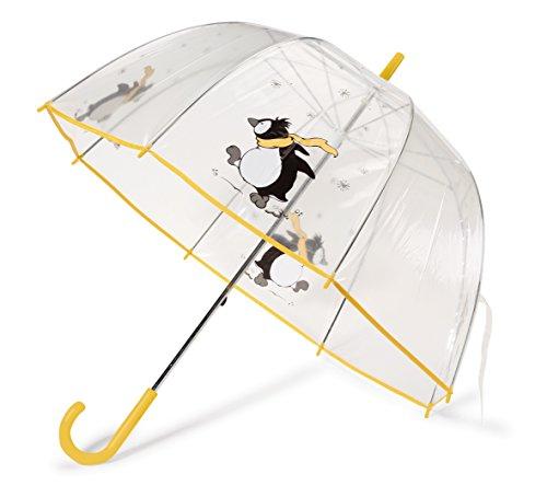 NICI 38984 - Regenschirm Pinguin, Durchmesser 73 cm, Länge 82cm