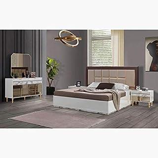 Home Box Valetta 5-Piece King Bedroom Set - 180x200 cms