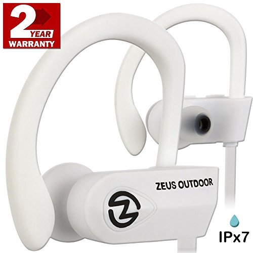 93a1437c88a Wireless Bluetooth Headphones Zeus IMPROVED 2017 - Best Wireless Earbuds w/  Mic Noise Cancelling -