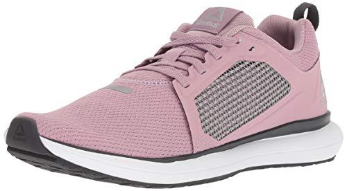 Reebok Women's Driftium Ride Running Shoe, Infused Lilac/Coal/White, 8.5 M US