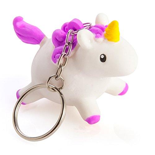 Boxer Gifts BB5245 Squeezy Poo Unicorn Keyring | Childrens Stocking Stuffer | Squeeze to Show Glittery Poop