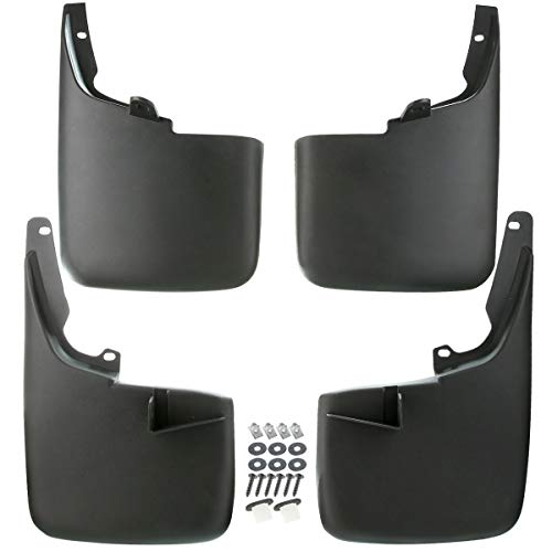 A-Premium Splash Guards Mud Flaps Mudflaps Replacement for Ford F-250 F-350 Super Duty 2011-2016 without Factory Fender Flares 4-PC Set