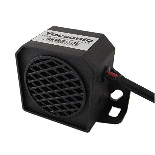 Yuesonic 107dB Beep Sound Backup Alarm Rückfahrwarner Summer mit Draht Anschluss für Fahrzeuge