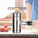 MICHAELA BLAKE Edelstahl-manuelle Teigwaren-Nudel-Hersteller-Maschinen-Hersteller Machen Spätzle Fruit Squeezer einschließlich verschiedenen Formen