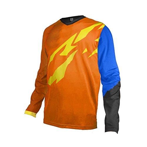 Uglyfrog+ Rennradtrikots Downhill Trikot Lange Ärmel MTB Trikot Herren Racewear FR Jersey Fahrrad Sport Enduro Leichtgewicht Atmungsaktives