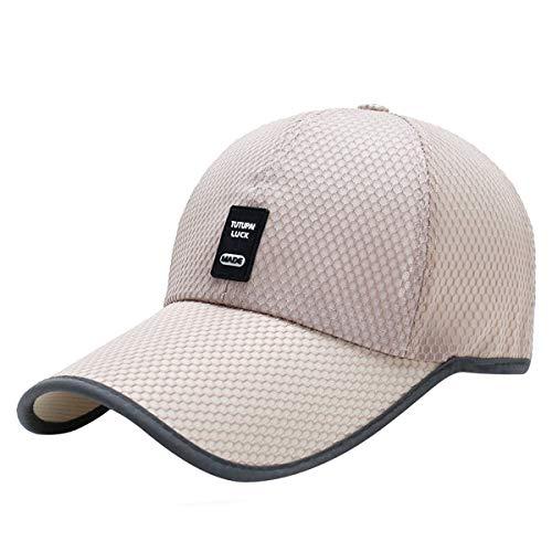 Voqeen Gorra de b/éisbol de Malla con Logo sin Defectos Sombreros de Sol