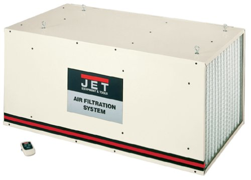 Jet 708615 Air Filtration System for Industrial Woodshop