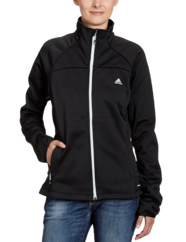 adidas Damen Jacke Hiking 1 Side Fleece, black, 44, X35524