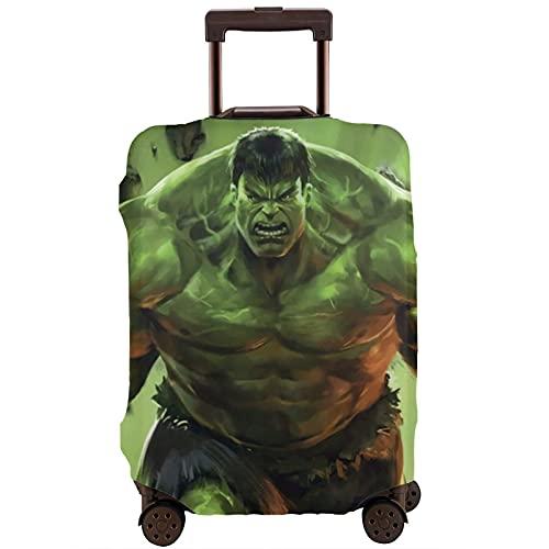 Anime Hulk - Funda protectora para maleta, lavable, diseño de impresión 3D, 4 tamaños para la mayoría de equipaje con cremallera