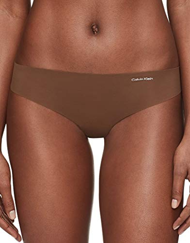 Calvin Klein Women's Invisibles Thong Multipack Panty, Spruce, Medium