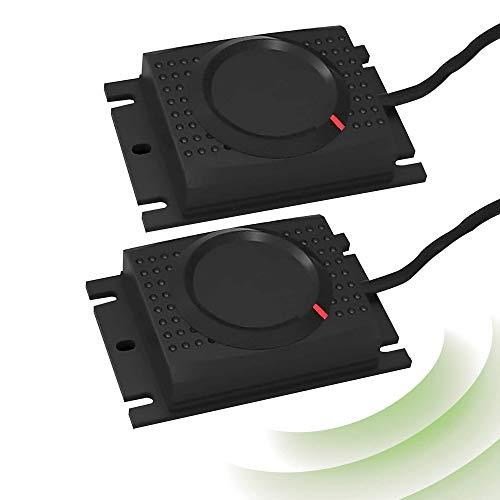 ISOTRONIC Marderscheuche Marderfix 12V Batterie Marderabwehr Marder-Frei Mäuseschreck Auto KFZ Marderfrei Marderschutz mit Ultraschall Akustik (2)