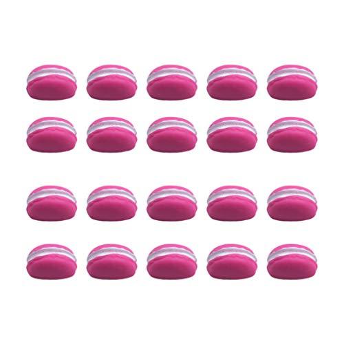 EXCEART 20Pcs Slime Charms Set Slime Beads Resina Flatback Charms Botones Artesanales para Accesorios Artesanales Scrapbooking Decoración de La Caja Del Teléfono