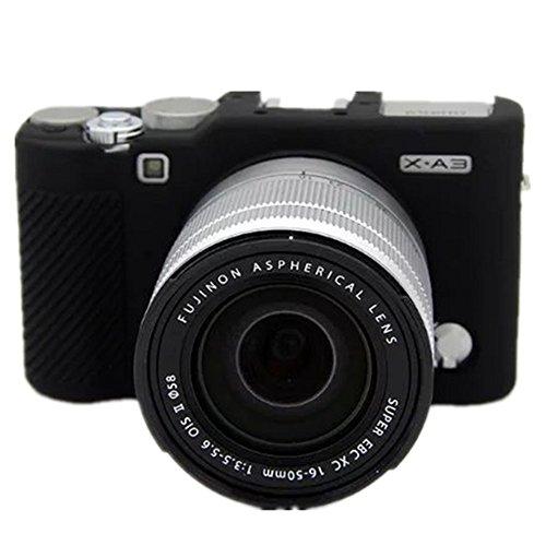 YingGe - Funda protectora de silicona protectora para cuerpo de cámara Fujifilm X-A3