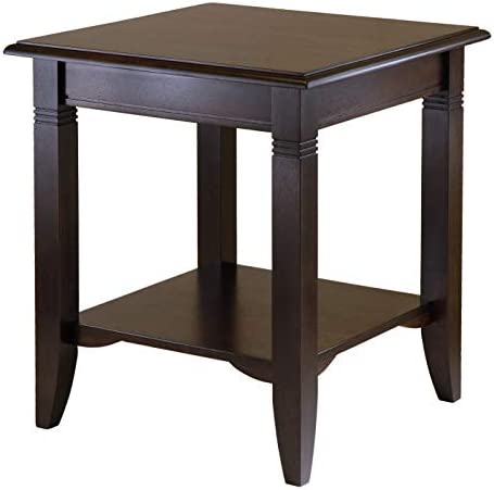 Best Winsome Wood Nolan Occasional Table, Cappuccino