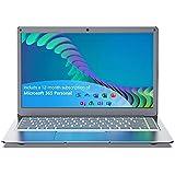 Jumper EZbook X3 Microsoft Office 365 día (13,3Pulgada / FHD) Ordenador portátil (Intel Dual Core, 4GB DDR3 RAM, 64GB eMMC, Intel HD Grafik 500, Bluetooth 4.2,Windows 10)