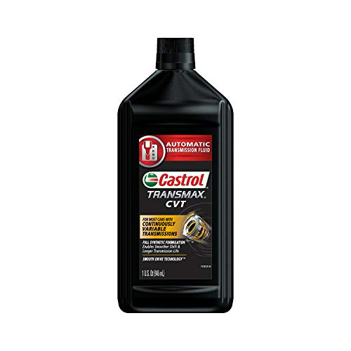 Castrol - 15B652-6PK Transmax ATF Black CVT Transmission Fluid - 1 Quart, (Pack of 6)