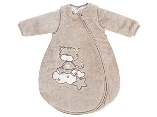 Jacky Baby Fleece Schlafsack mit abnehmbaren Ärmeln