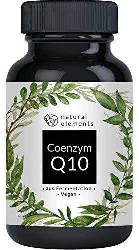 Coenzym Q10-200mg pro Kapsel - 120 vegane Kapseln - Hochwertiges Q10 aus pflanzlicher Fermentation - Laborgeprüft, hochdosiert, vegan