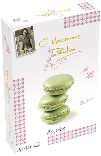 Macarons de Pauline Pistache 72g, paquete de 3 (3x72g)