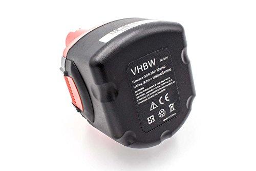 vhbw NiMH Akku 1500mAh (9.6V) passend für Elektro Werkzeug Tools Spit SDI SDI 6, SDI 9, SDI 96
