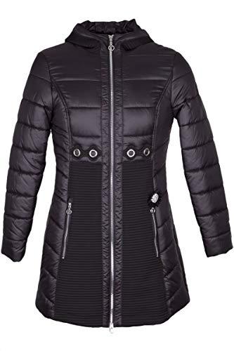 Sportalm Mantel Outfit TR schwarz mit Kaputze Fb 59 Größe 36