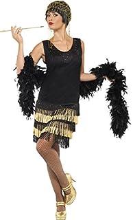 Smiffys Années 1920 Costume Flapper Frangé, Noir, M (B00AZGO2TO) | Amazon price tracker / tracking, Amazon price history charts, Amazon price watches, Amazon price drop alerts