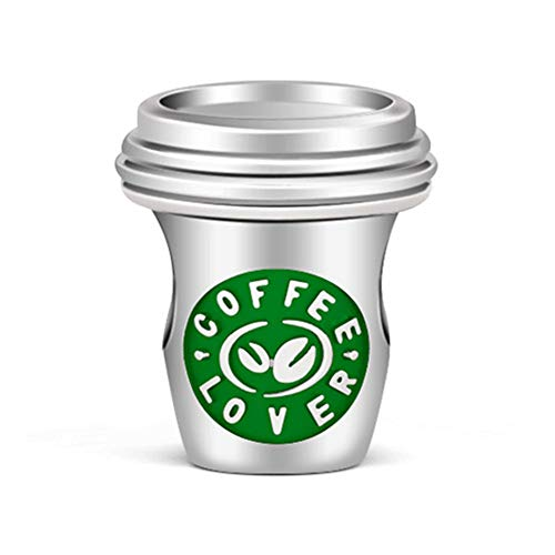 GNOCE Kaffeetasse Charms Anhänger Sterling Silber