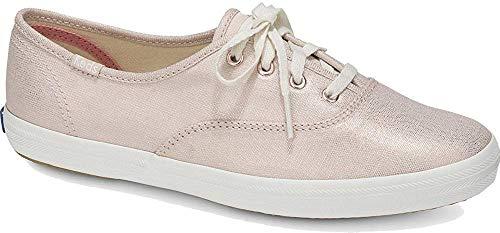 Keds Damen CH Metallic Linen Rose Gold Sneaker, 38 EU