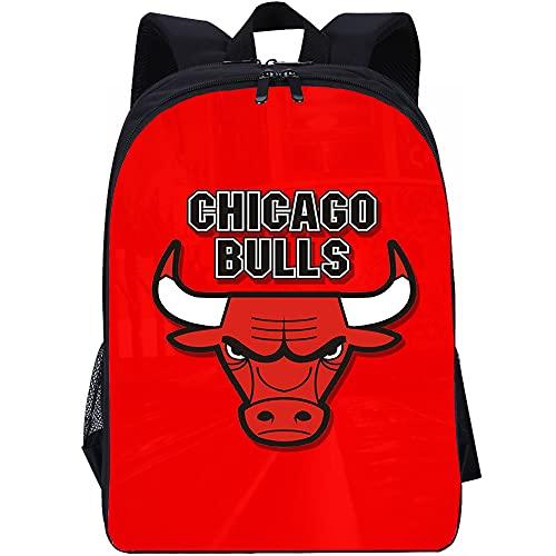 YITUOMO Borsa da scuola, Borse da scuola per ragazze Zaino per ragazze Zaino Chicago Bulls per ragazze Zaino multiscomparto secondario Casual Zaino da viaggio Studente