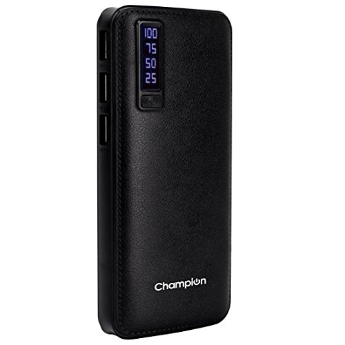 Champion PL-20000 20000mAh Power Bank (Black)