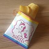 8 Sacchetti per Patatine e snack personalizzati tema unicorno femmina (senza snack, solo stampa)
