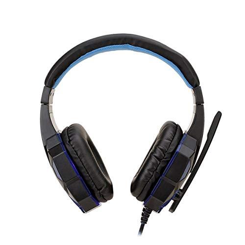 Sylvialuca SY830MV Auriculares estéreo de 7.1 Canales para Juegos Auriculares de Control USB Desmontables