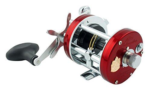 Abu Garcia Ambassedeur 7000c Compact Multiplier Reel, Red/Silver