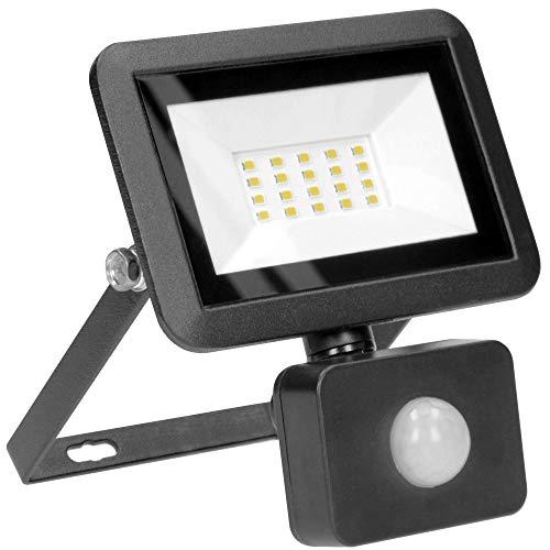 ORNO Bulled Focos LED Exterior con Sensor de Movimiento 10-50W IP44 Wasserdicht 800-4000lm (20W 1600lm)