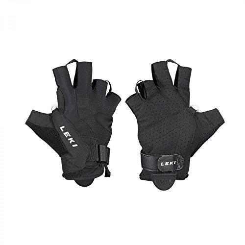 Leki HS Summer Shark Paire de gants courts Noir 6.5