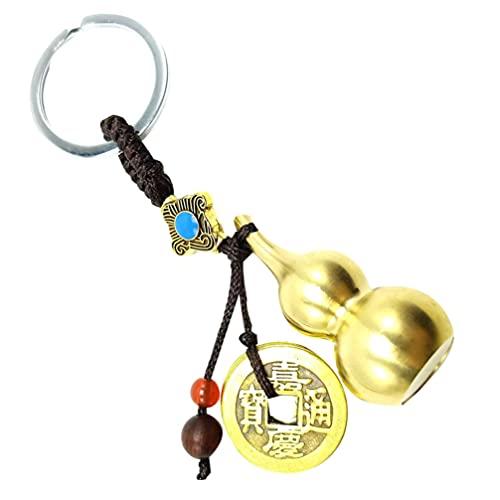 WINOMO Llavero de cobre de la calabaza de la moneda accesorios para la pulsera collar colgante para la decoración de la llave del coche