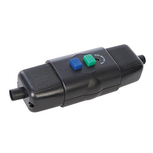 Powermaster 469272 Actieve 16-A-aardlekschakelaar voor vaste installatie, zwart