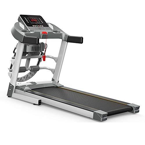 GAO-bo Cinta de Correr Plegable, Jogging condición aeróbica aparatos de Ejercicios Cintas for Correr, for el Movimiento fácil Caminar Muy Conveniente for el hogar (Color : Grey)