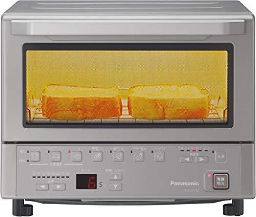 パナソニック コンパクトオーブン トースト焼き加減自動調整 8段階温度調節 シルバー NB-DT52-S