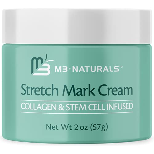 M3 Naturals Stretch Mark Cream Infused with Collagen...