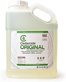 Cedarcide Original (Gallon) Cedar Oil Biting Insect Spray Kills and Repels Fleas, Ticks, Ants, Mites and Mosquitoes Indoor Cedar Oil Formula