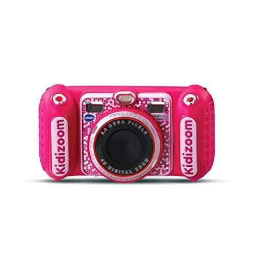 VTech Kidizoom Duo DX - Cámara de Fotos Infantil 1 en 1, filtros dinámicos
