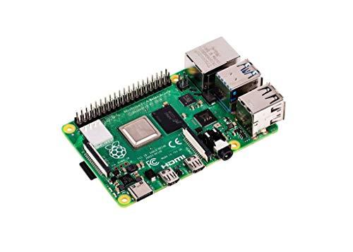 Raspberry Pi 4 Model B, 2GB (2GB) 2GB 2GB Negro Adaptador de Cable